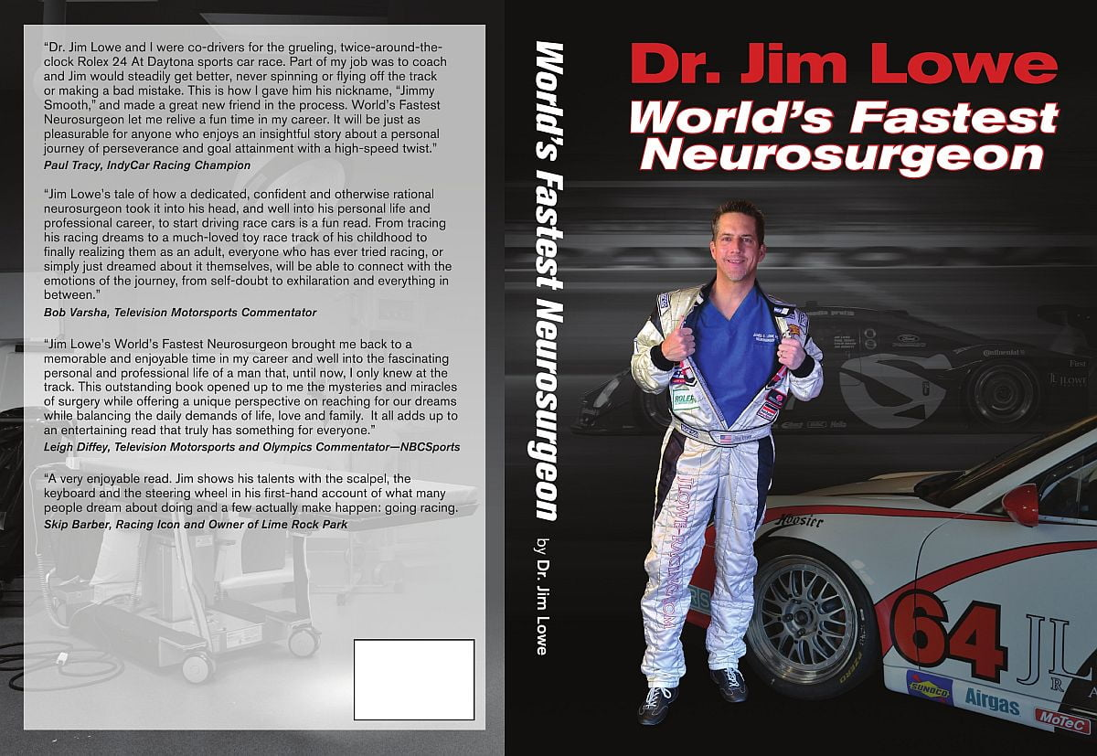 thextraordinarionly Ebook Cover of Book Review Worlds Fastest Neurosurgeon by Dr Jim Lowe