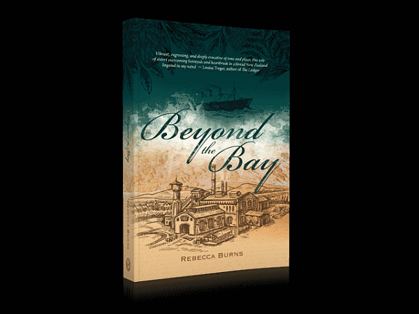 the book cover of thextraordinarionly book review beyond the bay by Rebecca Burns