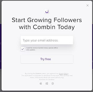 thextraodinarionly sign up to combin to start growing followers
