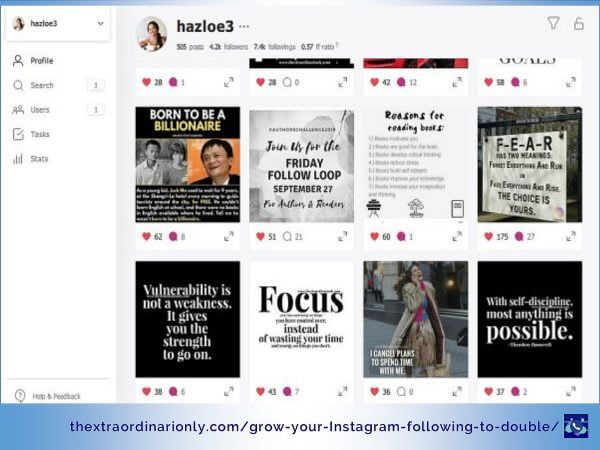 thextraordinarionly how i grew my instagram account account to double in 10 days and how you can do it for less by Hazlo Emma