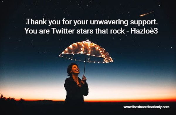 thextraordinarionly thankyou twitter stars, Hazlo Emma, the influencer