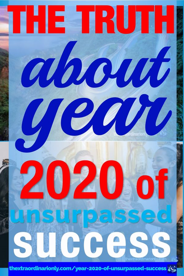 thextraordinarionly year 2020 of unsurpassed success where success loves speed blog post by Hazlo Emma PIN