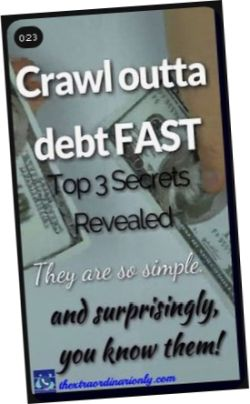 This is how to crawl outta debt FAST - top 3 secrets revealed - they are so simple and surprisingly you know them.jpg