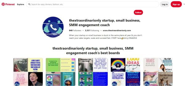 Explore Pinterest and search