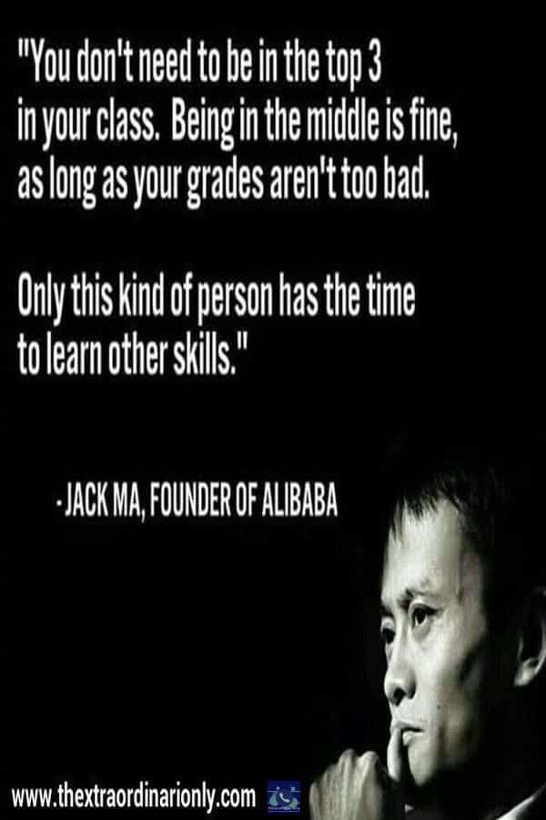 thextraordinarionly Learn other skills Quote by Jack Ma