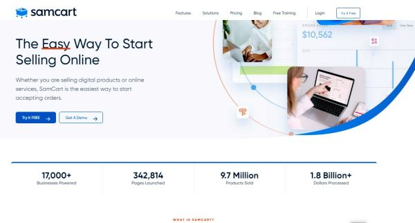 thextraordinarionly easy way to start selling online with samcart